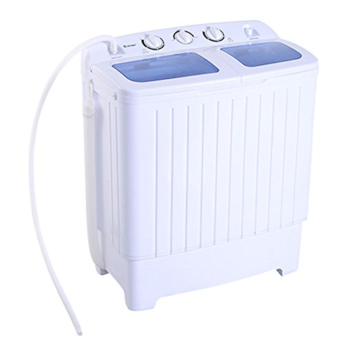 Giantex Portable Mini Compact Twin Tub 11lb Washing Machine Washer Spin Dryer (Washing Machines Portable compare prices)