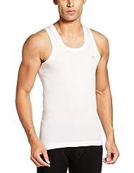 Rupa Frontline Men's Cotton Vests (Pack Of 2) - B00JZM2KU2