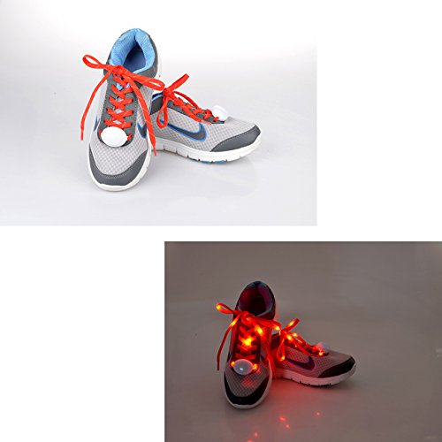 Tera-LED-Flash-Luminous-Light-Up-Glow-Strap-Shoelaces-String-Party-Skating-DISCO-Red