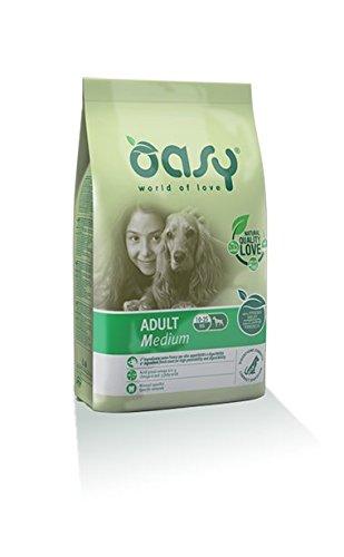 Crocchette Cane Adulto Medio Oasy Adult Dog Medium 2 x 3 kg Cibo Alimento Secco Cane