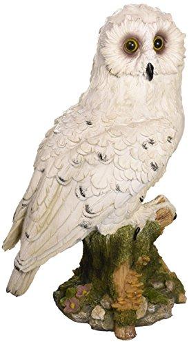 Design Toscano Mystical White Owl Statue Home Garden Decor
