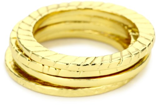 gorjana Love Gold Ring Set, Size 6