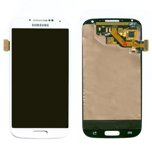 Samsung Galaxy S4 Digitizer Lcd Touch Screen Replacement Assembly / White