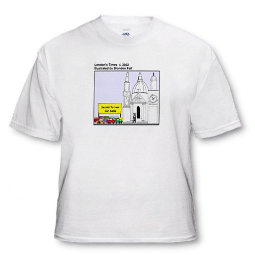 Holy Used Autos - Adult T-Shirt 4XL