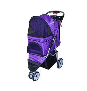YOOKI P-08PP Single Pet Stroller, Purple