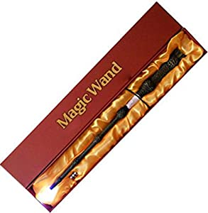 COCO New LED Harry Potter Hermione Dumbledore Sirius Magical Light Up Magic Wand Free Tattoo