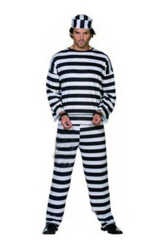 【コスゾーン】 囚人 男性用 のコスチューム