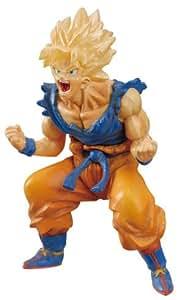 Dragon Ball Kai (Dragonball) Chozokei Damashii - Super Modeling Soul Frieza / Freeza / Freezer Figur: Super Saiyajin Goku 5 cm