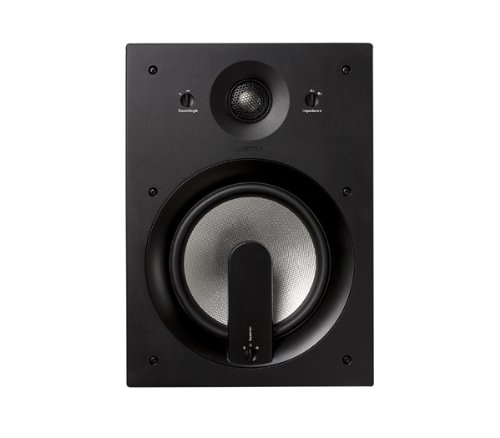 Jamo 60W 2-Way In-Wall Speaker, White Paintable