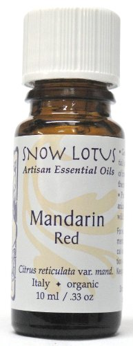 Snow Lotus Red Mandarin Essential Oil Organic 10ml