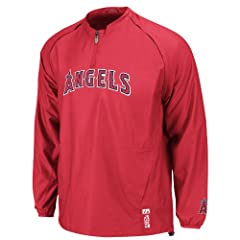 MLB Majestic Los Angeles Angels of Anaheim 2013 Authentic On-Field Cool Base Triple... by Majestic