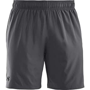 Under Armour Herren Fitness Hose und Shorts UA Mirage 8 Zoll, Gph/Blk, 3XL, 1240128