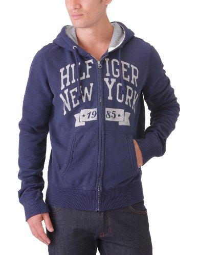 Hilfiger Denim Men's Otter Hd Zipthru L/S / 1957818853 Sweatshirt Blue (409 Peacoat) 46