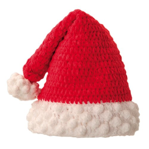 San Diego Hat Co. Kids Red Chenille Christmas Santa Hat Winter Cap NEW!