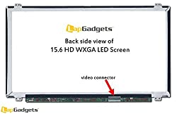 Lap Gadgets Replacement Laptop LED Screen FOR Sony Vaio SVE15113ENB 15.6 inch wide Screen WXGA (1366x768) with 1yr warranty