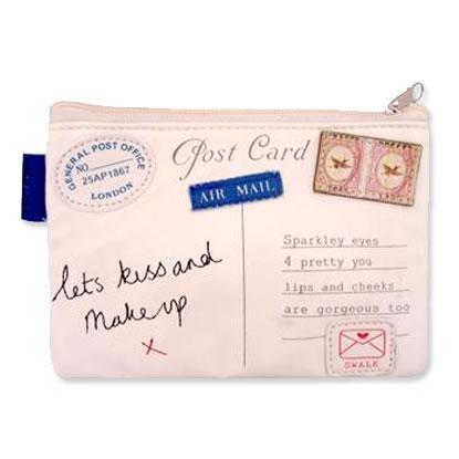 Paper Plane Make-Up Bag