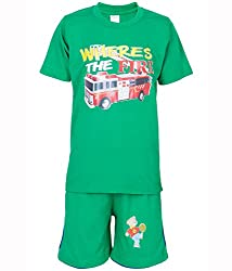 Ultrafit Junior Boys Cotton Green Twin Sets