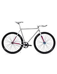 State Bicycle Core Model Fixed Gear Bicycle - La Fleur 2.0, 59 cm