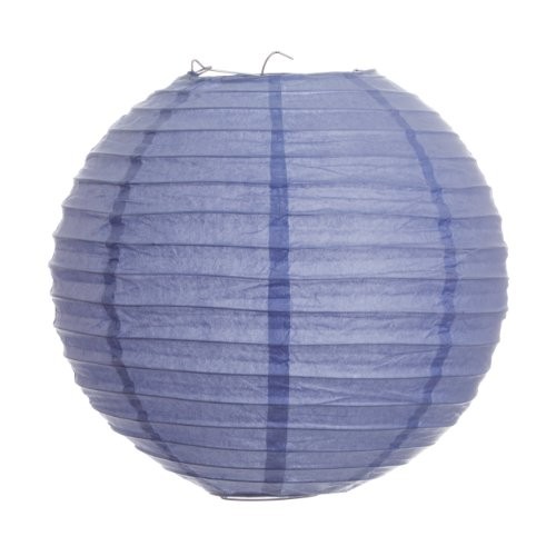 Koyal 8-Inch Paper Lantern, Lavender, Set of 12