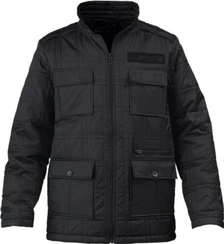 Burton B65 Mens Jacket - S, True Black