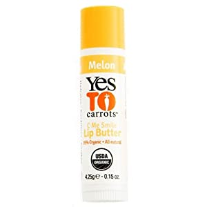 Yes To Carrots Melon Lip Butter (Pack of 3) 0.15 oz