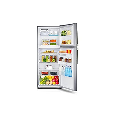 Samsung RT39HDJTESP Frost-free Double-door Refrigerator (393 Ltrs, 4 Star Rating, Platinum Inox)