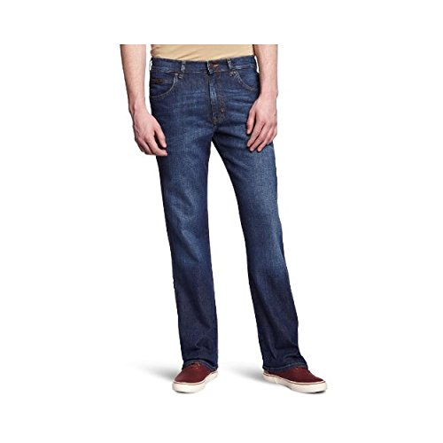 Wrangler Pittsboro-jeans Uomo    Blue (Night Break) 32W/36L