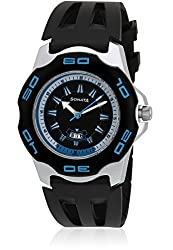 Sonata Super Fibre Analog Black Dial Mens Watch - NF7929PP06J