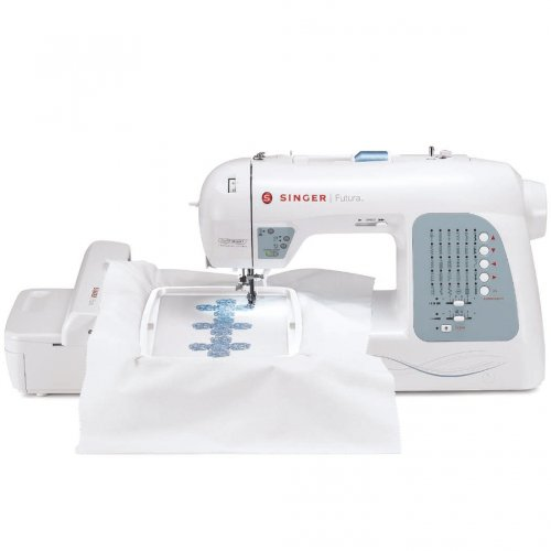 Learn More About SINGER Futura XL-400 Computerized Sewing and Embroidery Machine with 18.5-by-11-Inc...