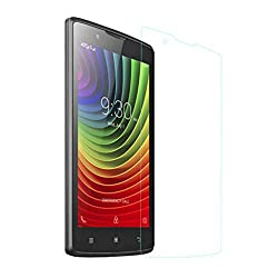 iKraft Premium Tempered Glass Screen Protector for Lenovo A2010 with Curved Edges