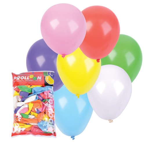 Rhode Island Novelty Standard Color Balloons (144-Pack)