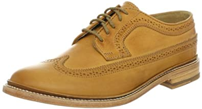 FRYE Men's James Wingtip Oxford,Tan-84632 7 M US