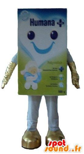 mascotte SpotSound Amazon Blédine, infantile preparazione del cibo