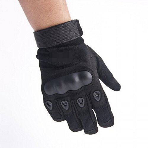 iMeshbeanWear-resistant Tactical Gloves Hard Knuckle and Foam Protection for Shooting Airsoft Hunting Cycling Motorcycle Gloves Men's Outdoor Half finger Full finger Gloves M/L/XL