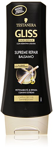 Testanera - Gliss Hair Repair, Balsamo Supreme Repair - 200 ml