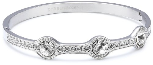 Dyrberg/Kern 333779  Swarovski Crystal  Steel Bangle