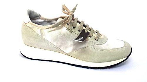 43Y3PANNA Scarpa donna sneaker running Frau beige
