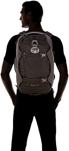 Osprey Porter Travel Backpack Bag, Black, 46-Liter