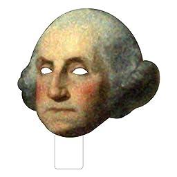FKB25001P3 George Washington Cardboard Mask