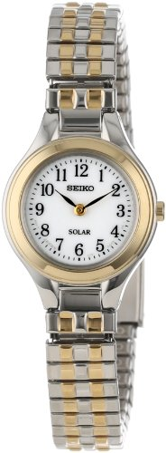 Seiko Women's SUP100 Solar Expansion Classic Watch