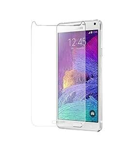 CRONUS Premium Grade Tempered Glass Shatterproof & Oleo phobic coated Screen guard for Samsung Note 4 N910G
