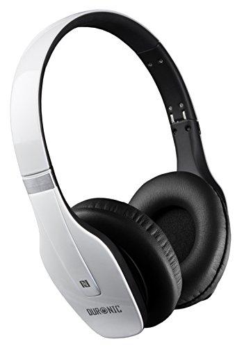 duronic-hp66-we-blanco-auriculares-recargable-con-bluetooh-nfc-30h-reproduccion-manos-libre-funda-in