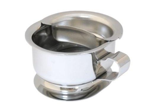 プロ用で使いやすい シェービングカップ ステンレス