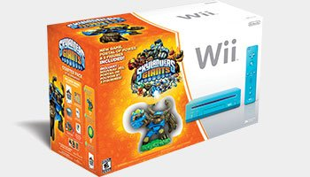 Skylanders Giants Blue Nintendo Wii Console Bundle Pack at Amazon.com