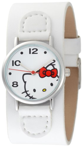 Hello Kitty Women's H3WL1000WT White Dial Watch