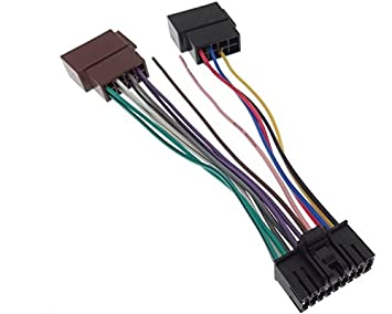 SONY Autoradio Kabel Radio Adapter Stecker DIN ISO - us143