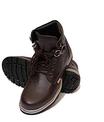 Freedom Daisy 560 Men's Dark Brown Faux Leather Boots