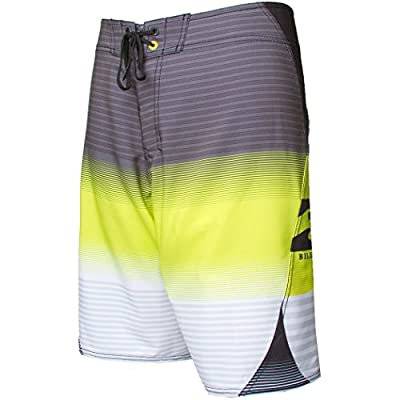 Billabong Men's Occy Phaser Boardshorts, Neo Lime, 38