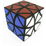 Flower Cube - Curvy Copter Cube - Magic Cube - Twisty Puzzle - Type Cubikon Lucky Lion