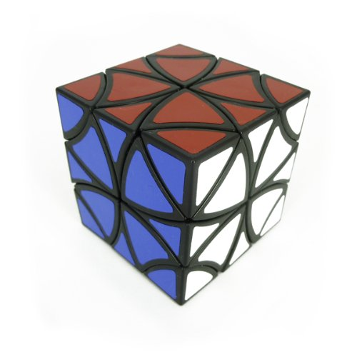 Flower Cube (Curvy Copter Cube) - cubo magico - twisty puzzle - tipo Cubikon Lucky Lion